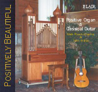 Positively Beautiful - guitar and positive organ Album Photo
